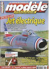 "MODELE MAG N°628 PLAN : FS3 ""BESENSTIEL"" / REALISER UN F-86 ""SABRE"" A TURBINE"