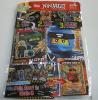 LEGO Ninjago - Magazin Nr. 34 mit Lloyd und Limitierte Karte