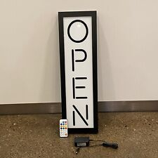 Led Open Sign for Business - Still And Animated Motion Light With Remote