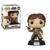 Star Wars Endor Han Solo Pop! Vinyl Figure #286 PLUS FREE STARS WARS CHARACTER