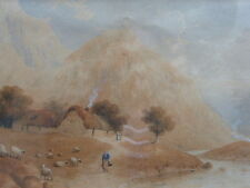 LANDSCAPE STRATHEARN ARTIST ANDREW DONALDSON 1846 FREE SHIPPING TO ENGLAND