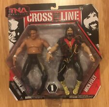 Series 1  Wrestling Cross The Line Signed Auto Mick Foley Action Figure