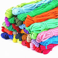 10M Hoch Elastisch Bänder Gummiband 6mm Seil Line DIY Taille Belt Nähen Zubehör