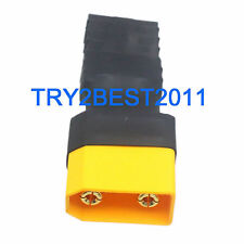 XT90 Male to TRX Female adapter No Wires Connector for Traxxas