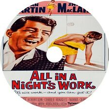 All in a Night's Work _ Dean Martin Shirley MacLaine Cliff Robertson V Rare 1961