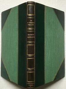 In a Green Shade, A Country Commentary by M Hewlett, 1920 - Morrell Fine Binding