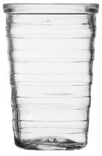 Ravenhead Rippled Glass Tumbler Set Stackable Juice Water Glasses Set of 6
