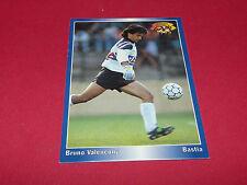 BRUNO VALENCONY BASTIA ARMAND CESARI PANINI FOOTBALL CARD 1994-1995