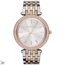 MICHAEL KORS reloj de mujer MK3203 Tricolor Acero inox. color: PLATA/ORO