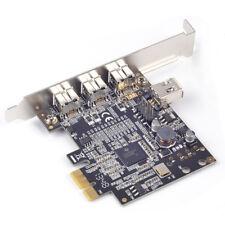 PCIe to 1394b FireWire Controller Card 3 external 1394b + 1 internal 1394a