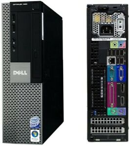 Dell Optiplex 960 SFF Intel Core 2 Quad 2.40GHz 350GB 4GB DVDRW WiFi Win 10 X64