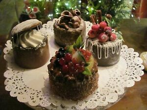 FAKE CAKES ARTIFICIAL DESSERT SWEET PUDDING CHEESECAKES PATISSERIE,TV PROP 15