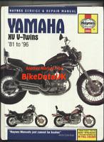 Yamaha Virago XV 535 700 750 1000 1100 (81-96) Haynes Service Repair Manual CG34