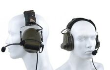Z-Tact Element Comtac II Military Style Radio Head Set Foliage Green Airsoft