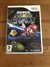 Super Mario Galaxy - Nintendo Wii - Complete With Box and Manual - VGC