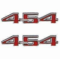NEW 70-72 Chevy Chevelle 454 Fender Emblems   ** USA MADE **  BEST QUALITY
