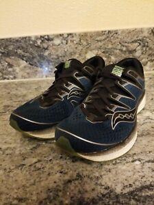 Saucony Triumph ISO 5 Size 9.5 M (D) EU 43 Men's Running Shoes Steel S20462-2