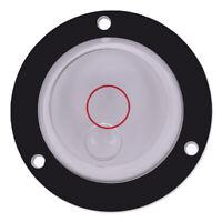 Medidor medición Regla de nivel Superficie de marca de grado de burbuja circulXI