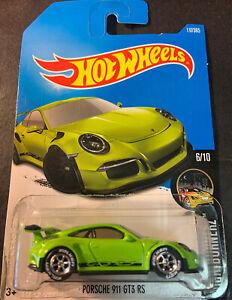 Hot Wheels CUSTOM Porsche 911 GT3 RS with Falken Real Riders