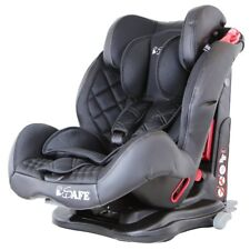 iSafe Isofix Duo Trio Plus Isofix Top Tether Car Seat Carseat Raven Black