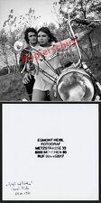 Foto rocker motocicleta bmw r 69 s Chopper modificación munich pelo keferloh 1971