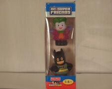 Fisher Price Little People DC Super Friends Batman & The Joker New Rare