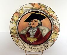 Royal Doulton The Mayor Plate Professionals Series 10½ Inches D6283