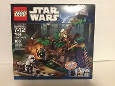 NEW! Lego Star Wars Ewok Attack Set (7956) RETIRED! NIB Factory SEALED!