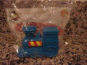 Wendy's Kids Meal Toy fast food toys  Playskool Blue Train Factory Sealed