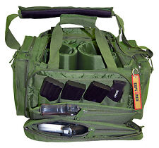 *New* Large Heavy Duty Padded Range Bag Pistol Hand Gun Hunting Olive Drab