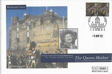 GB Clearance 2002 Mercury Queen Mother Edinburgh Castle Memorial cover