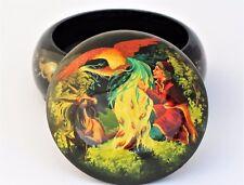 Boîte à bijoux collection décoration D13 H7  miniature laquée bois peint à main