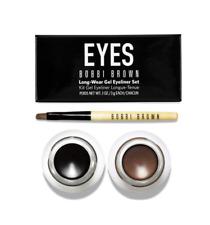 Bobbi Brown Long-Wear Gel Eye Liner Duo .1 oz / 3g Each - Black & Sepia Ink NEW