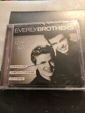 Everly Brothers Reunion Concert Live CD-BRAND NEW-2 CDs