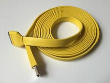 Heavy Duty strong charge Apple iphone 3G 4 4S Ipad 2 3 USB lead cable 3M yellow