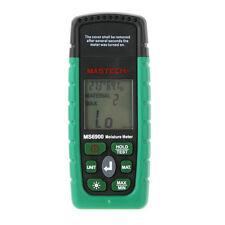 Higrometro Digital Medidor Tester Humedad de Madera, Edificios de Hormigon & LCD