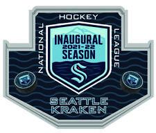 Seattle Kraken Inaugurale Saison Souvenir Broche NHL Hockey Revers Style