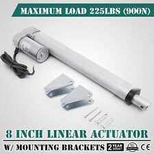 "8"" 900N Linear Actuator 12V Electric Motor for Solar Track Auto Door Lifting"