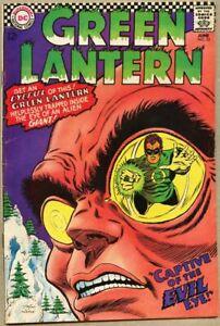 Green Lantern #53-1967 fn 6.0 Carmine Infantino Gil Kane Evil Eye