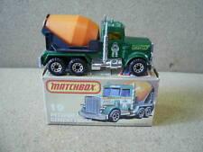 Matchbox Superfast 19 Peterbilt Cement Truck 'BIG PETE