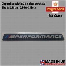 60mm BMW 3D Badge Emblem Sticker Door Interior Domed Gel Gloss SportPerformance!