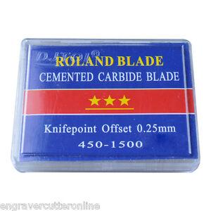 45° Roland Cutting Blades Cutter Knife for Vinyl Cutter , N Grade -5pcs/pack