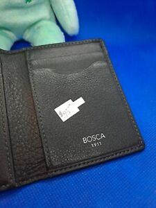 BOSCA Genuine Leather Wallet New Reg. $90