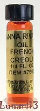 French Creole, Oil, Anna Riva, 1/4 oz, Lunari13, Wicca, Santeria, Brujeria