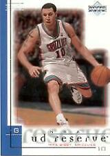 2000-01 UD Reserve Vancouver Grizzlies Basketball Card #86 Mike Bibby