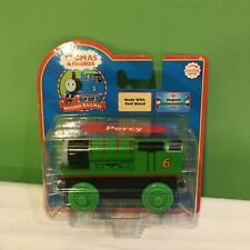BRAND NEW RARE THOMAS & FRIENDS WOODEN RAILWAY TRAIN PERCY FREE SHIPPING