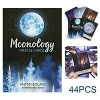Tarot Cards Moonology Oracle Cards: A 44-Card Deck English Gifts Entertainment