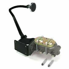 37-39 Chevy Manual Brake Pedal kit Drum/Drum3in Chr Pad rat hot rods master