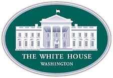 "The White House Washington USA President Car Bumper Window Sticker Decal 5""X3"""