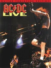 AC/DC LIVE - GUITAR TAB TABLATURE SHEET MUSIC SONG BOOK